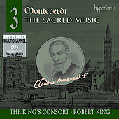 Monteverdi: Sacred Music Vol 3 / Robert King, King's Consort