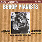 Bud Powell: Bebop Pianists