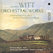 Witt: Orchestral Works / Moesus, Barner, Hamburg SO
