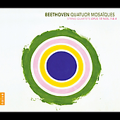 Beethoven: String Quartets no 1 & 4 / Quatuor Mosaïques