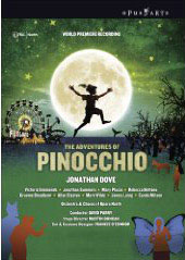 Dove: The Adventures of Pinocchio / Parry/Opera North, 2008, Simmonds, Summers [2 DVD]