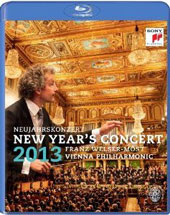 New Year's Concert 2013 / Franz Welser-Most, Vienna PO (live) [Blu-ray]