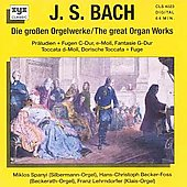 Bach: Grosse Orgelwerke