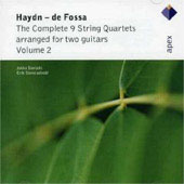 Haydn: Complete 9 String Quartets Arranged For Two Guitars V.2
