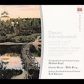 Schostakowitsch: Symphony no 1, etc / Kleinert, Kegel, et al