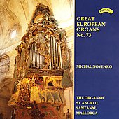 Great European Organs Vol 73 / Michael Novenko