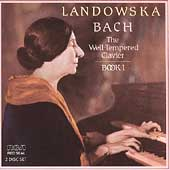 Bach: Well-Tempered Clavier, Book 1 / Wanda Landowska