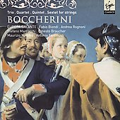 Boccherini: Trio, Quartet, Quintet, Sextet for Strings / Fabio Biondi, L'Europa Galante, et al