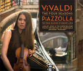 Vivaldi: The Four Seasons;  Piazzolla: The Four Seasons of Buenos Aires / St John, Marturet, et al