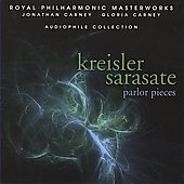 Kreisler, Sarasate: Parlor Pieces / Jonathan Carney