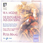 Mozart: Die Entfuhrung Aus Dem Serail K, 384 / Peter Maag