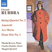 Edmund Rubbra: String Quartet no 2, Amoretti