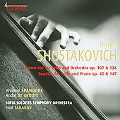 Shostakovich: Cello Concertos; Cello Sonatas