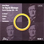 Der Ring des Nibelungen: Historical Recordings 4