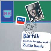 Bartok: Complete Solo Piano Music / Kocsis