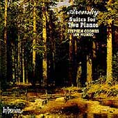 Arensky: Suites for Two Pianos / Stephen Coombs, Ian Munro