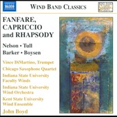 Fanfare, Capriccio & Rhapsody / Music for Winds