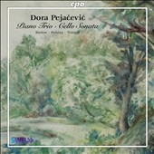 Dora Pejacevic: Piano Trio; Cello Sonata / Bielow, Poltera, Triendl