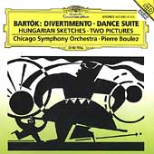 Bartók: Divertimento, Dance Suite, etc / Boulez, Chicago SO