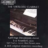 The Virtuoso Clarinet / Stevensson, Knardahl