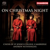 On Christmas Night / works by Rutter, Burton, Mathias, Darke and Poston