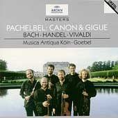 Pachelbel: Canon & Gigue, etc /Goebel, Musica Antiqua Köln