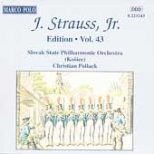 J. Strauss Jr. Edition Vol 43 / Christian Pollack, et al