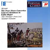Mozart: The Four Horn Concertos / Clevenger, Franz Liszt CO