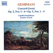 Geminiani: Concerti Grossi / Krecek, Capella Istropolitana
