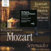Mozart: Serenades, K.185; March K.189; Rondo D.373; Divertimento K.113 / Alexander Janiczek, violin. Scottish CO