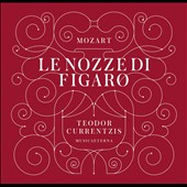 Mozart: The Marriage of Figaro / Andres Bondarenko, Simone Kermes, Fanie Antonclou, Christian Van Horn, Mary-Ellen Nesi. Teodor Currentzis [Blu-ray audio]