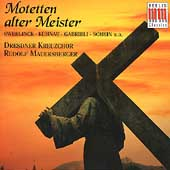 Motetten alter Meister / Mauersberger, Dresdner Kreuzchor