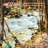 Mozart: String Quintets in C Major KV 515 and in G minor KV 516 / Fine Art Quartet, J. Dupouy, viola