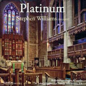 'Platinum' - Organ works by Bach, Mendelssohn, Whitlock, Soler, Franck, Eben, Sowerby, Vierne / Stephen Williams, organ