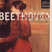 Beethoven: Piano Concertos no 2 & 3 / Barenboim, Berlin PO