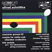 Schnittke: Works for Chamber Orchestra / Markiz