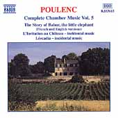 Poulenc: Complete Chamber Music Vol 5 - Story of Babar, etc