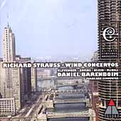 Strauss: Wind Concertos, etc / Barenboim, Chicago SO, et al