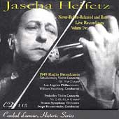 Heifetz - Never Before Released & Rare Live Recordings Vol 2
