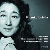 Schubert: Piano Sonata D 568, Moments musicaux D 780 /Uchida