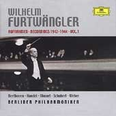 Wilhelm Furtw&#228;ngler - Recordings 1942-44 Vol 1