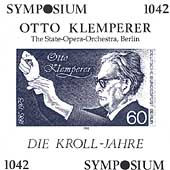 Otto Klemperer Conducts Beethoven, Wagner, Ravel, Debussy