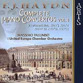 Haydn: Complete Piano Concertos Vol 4 / Palumbo, Theis