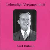 Legendary Voices - Kurt B&#246;hme