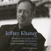 Brahms: The Two Sonatas Op 120;  et al / Khaner, Abramovic