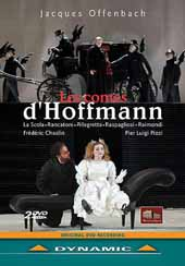 Jacques Offenbach: Les Contes d'Hoffmann / Frederic Chaslin / Orchestra Filarmonica Marchigiana [2 DVD]