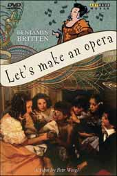 Britten: Let's make an Opera / A film by Petr Weigl [DVD]