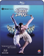 Swan Lake - A re-interpretation by Matthew Bourne from Sadler's Wells Theatre, music by Tchaikovsky [Blu-Ray]