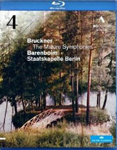Bruckner: The Mature Symphonies - Symphonhy No. 4 / Daniel Barenboim, Staatskapelle Berlin (live, June 2010)  [Blu-Ray]