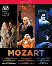 Mozart: Don Giovanni; Marriage of Figaro; Magic Flute / Keenlyside, DiDonato, Roschmann, Ketelsen, et al.; Orchestra & Chorus of the Royal Opera House [5 Blu-ray]